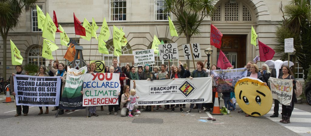 Demo at County Hall 11 Sept 2019